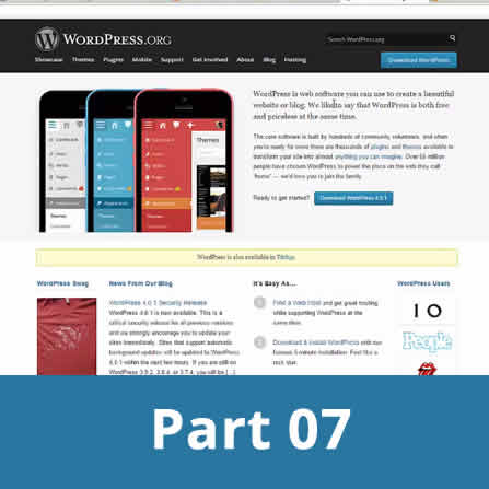 Finilizing wordpress website plus what next